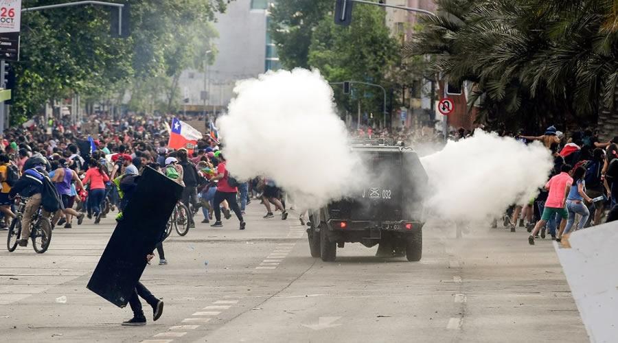 Chile ataques