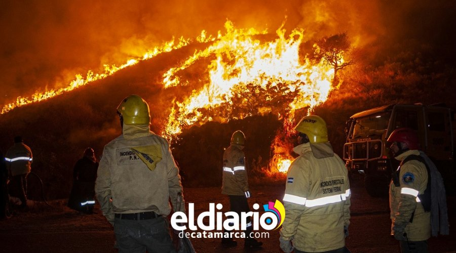 incendio en el rodeo